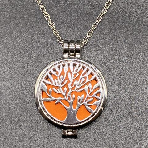 Tree Diffuser Necklace