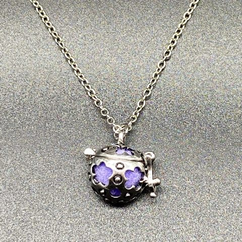 Aroma Ball Diffuser Necklace