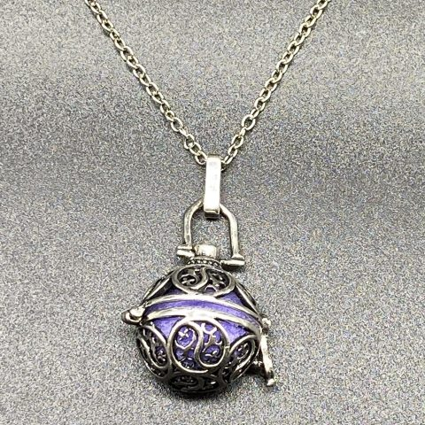Aromatic Sphere Diffuser Necklace