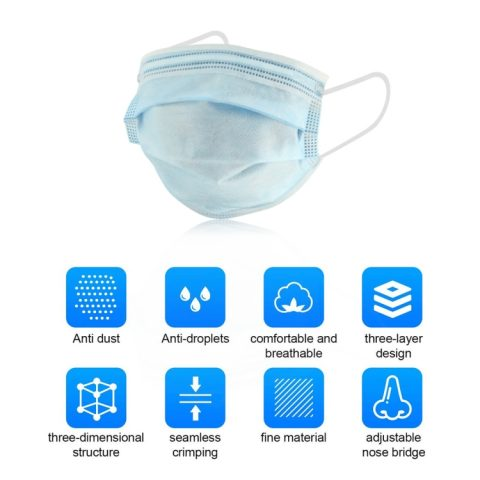 Disposable Face Mask Box Of 30 – Kids