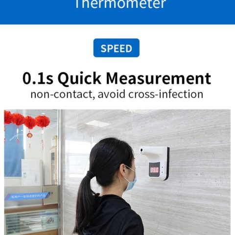 K3 Handsfree Non-contact Forehead Body Infrared Thermometer